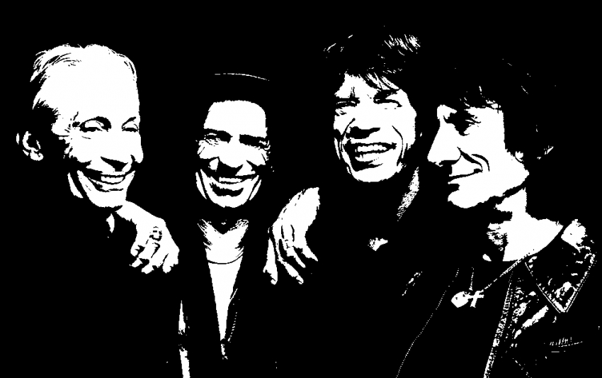 The Rolling Stones by Machine34200